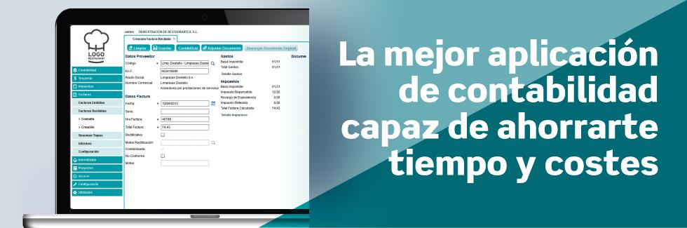 La mejor aplicación de contabilidad capaz de ahorrarte tiempo y costes